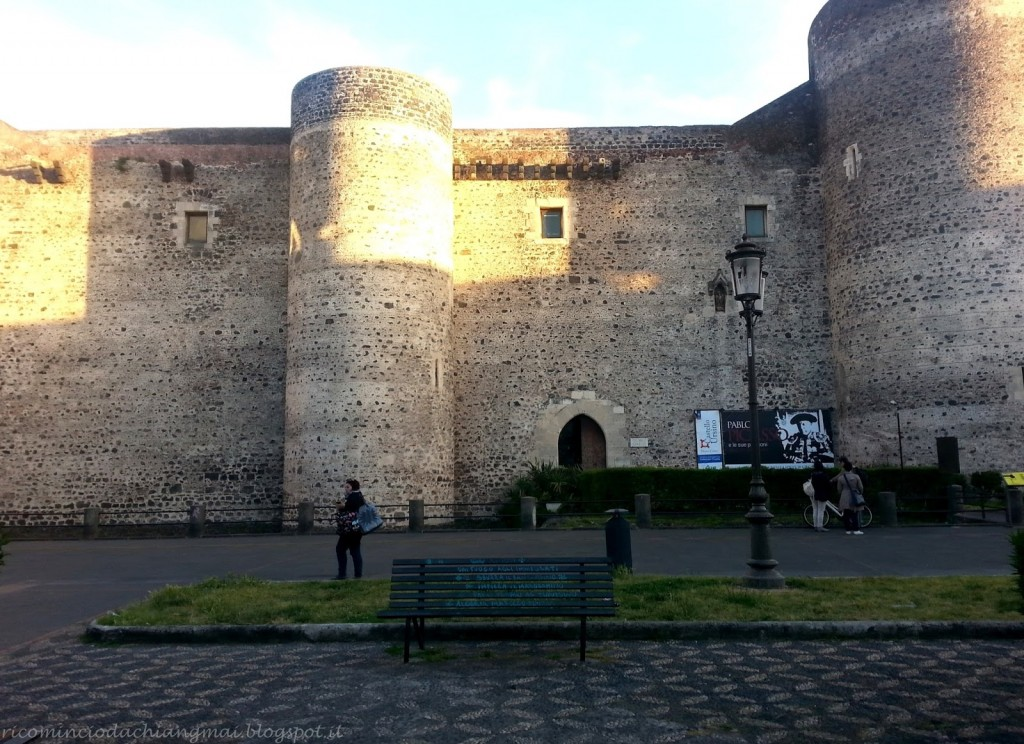 catania, castello ursino